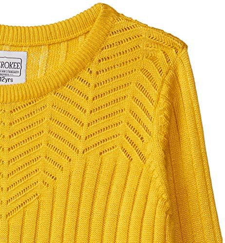 CHEROKEE Girl's Wool Cardigan (280205093_Mustard_09Y_FS