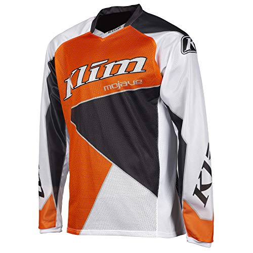 KLIM Mojave Jersey MD Orange - Gray (Non-Current)