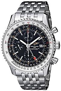 Breitling Men's BTA2432212-B726SS Navitimer World Chronograph Watch image