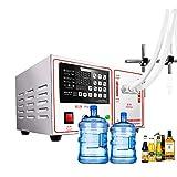 Máquina de llenado de líquidos de acero inoxidable digital automática Bomba de llenado Bebida de agua Licor Vinagre Crema de jugo de soja Relleno de embotellador cosmético (5-17000ml)