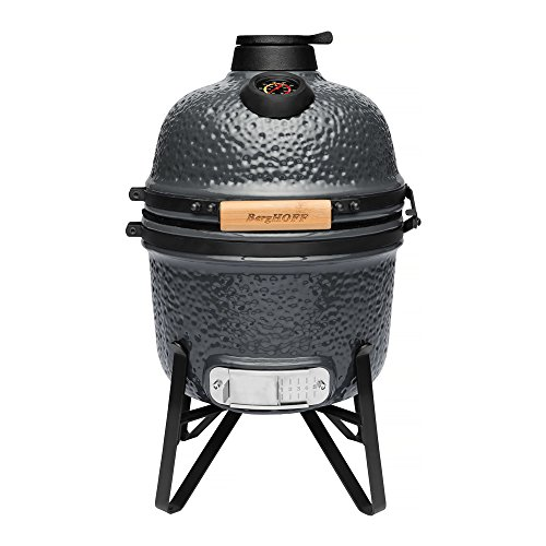 BergHOFF Ceramic BBQ and Oven, Bluestone Grey, 41 x 36 x 57 cm
