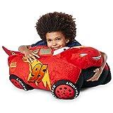 Pillow Pets Jumboz Disney Pixar Cars 3, Lightning Mcqueen, 30' Jumbo Folding Plush Pillow