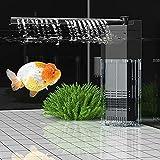 3 niveles de buceo multifuncional, filtro interno para acuario y tanque de peces