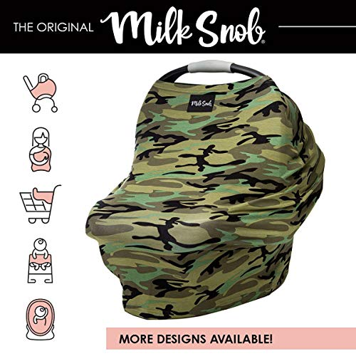 Milk Snob Cover B&W Signature Stripe