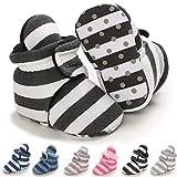 Infant Baby Boys Girls Booties Soft Non-Slip Sole Newborn Toddler First Walkers Crib Winter Warm Socks