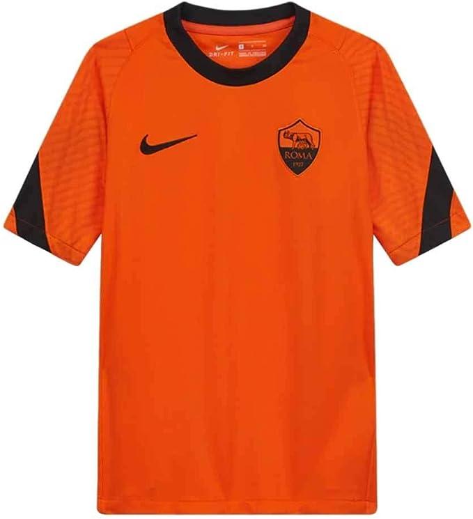 Nike 2020-2021 - Maglietta da allenamento Roma, colore: Arancione ...