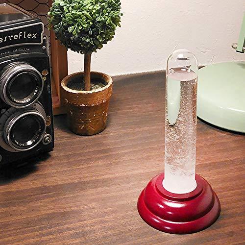 ストームグラスYG638SRオブジェガラス置物季節飾り結晶北欧天気予報おしゃれモダンインテリア