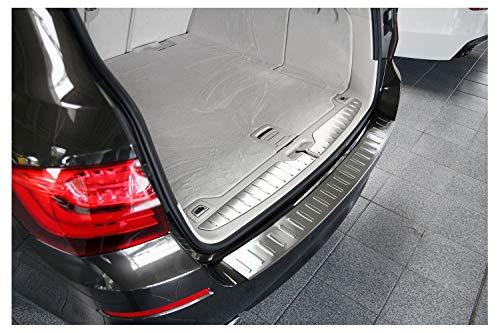 tuning-art BL922 Ladekantenschutz mit Abkantung für BMW 5er F11 Touring 2010-2017