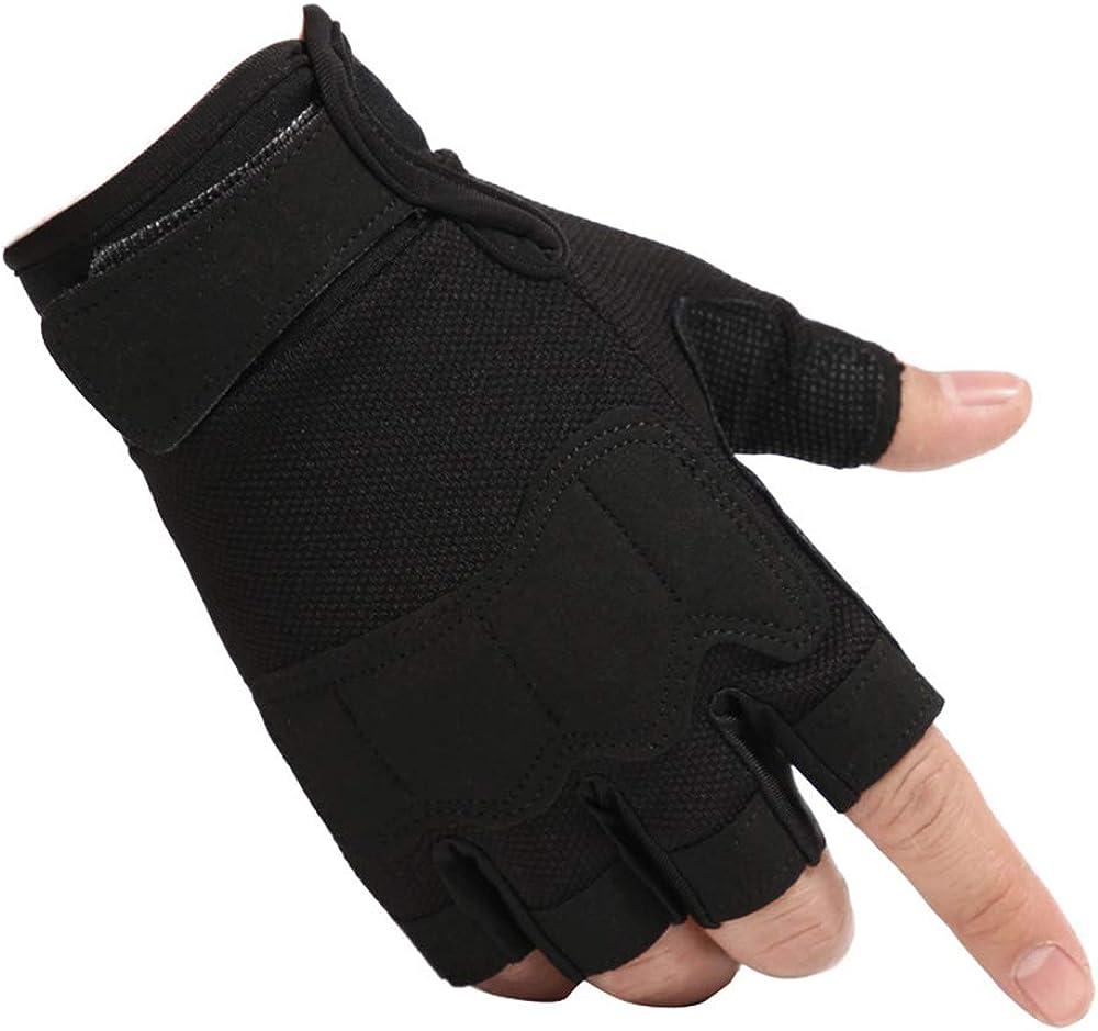 Half Finger Cycling Gloves, Men/Women Padded Short Bike Gloves Outdoor Sports