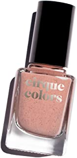 Cirque Colors Desert Bloom Collection - Speckled Nail Polish - Mineralized - Terracotta - 0.37 fl. oz. (11 ml) - Vegan, Cruelty-Free, Non-Toxic Formula