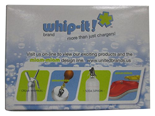 Whip-It! Brand CO2 Chargers, 10-Pack