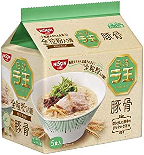 日清食品 日清ラ王 豚骨 5食パック