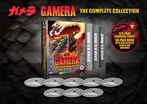 Gamera: The Complete Collection Limited Edition [Blu-ray]