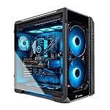 Thermaltake LCGS View 380 AIO Liquid Cooled CPU Gaming PC (AMD RYZEN 9 3900X 12-core, ToughRAM DDR4 3600Mhz 16GB RGB Memory, RTX 3080 10GB, 1TB M.2, Win 10 Home) V51B-X570-V38-LCS