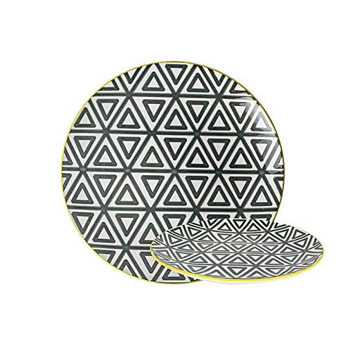 GUSTA 02266490 Triangle Speiseteller Teller flach ø26,5 cm (1 Stück)