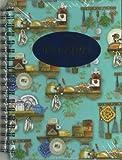 Rezeptbuch 'Landhausküche' blau