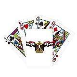 Bandera de Egipto Árabe Emblema Nacional Jugar Tarjeta mágica Divertida Juego de mesa