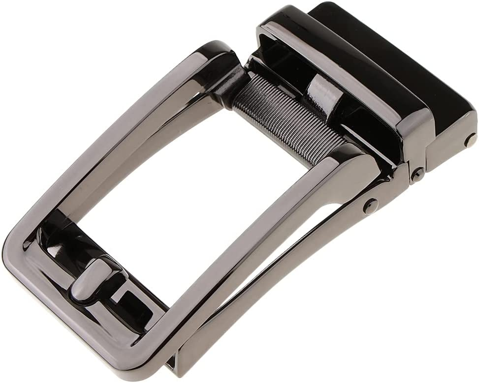 TJLSS Business Mens Retro Leather Ratchet Max 83% Popularity OFF Alloy Belt Automatic B