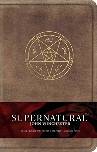 Supernatural John Winchester's Ruled Journal