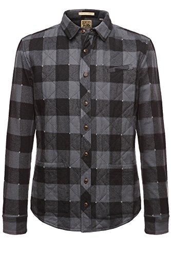 khujo Herren Shirt Suomi 2282SH153_CH42 CH42LG/MET, XL