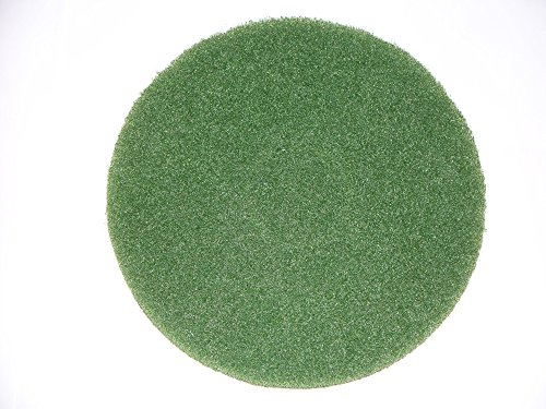 BISSELL BigGreen Commercial 437.056BG-C Cleaning Pad for BGEM9000 Easy Motion Floor Machine, 12', Green (Pack of 5)