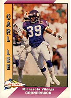 1991 Pacific #291 Carl Lee NFL Football Trading Card