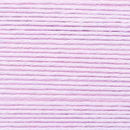 Rico Baby Cotton Soft Yarn dk Colour052Pale Pink, Soft Baby Wool, Cotton Blend for Knitting and Crocheting
