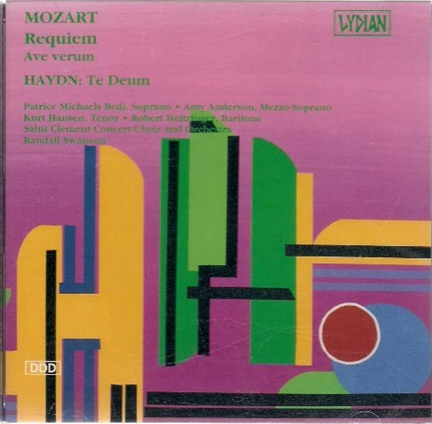 Requiem/Te Deum by Mozart