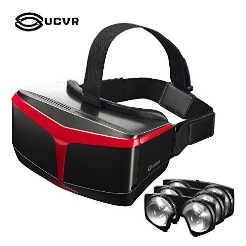 UCVR Superior Fresnel Lentes ópticas Mismos materiales que HTC, VR...