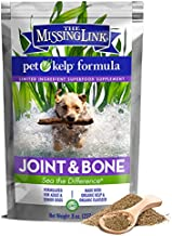 The Missing Link - Non-GMO Pet Kelp, Joint & Bone Formula — Limited ingredient Superfood Supplement for Dogs rich in Omegas and with Glucosamine to support healthy nutrition and mobility  — 8 ounces