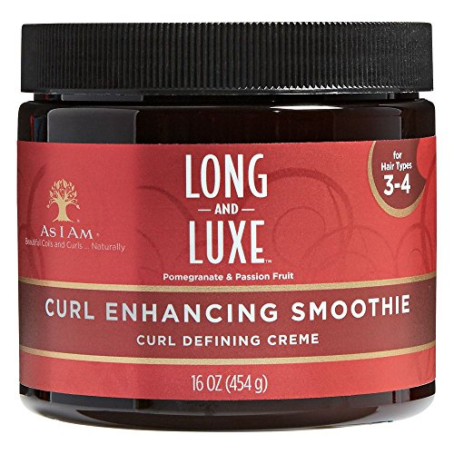 As I Am Long & Luxe Granatapfel & Passionsfrucht Curl Enhancing Smoothie 16oz
