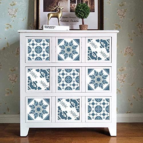 LC&TEAM Kakelfolie, kakeldekal kök folie mosaikplattor 61 x 500 cm av PVC självhäftande film för möbler väggdekal köksfolie kan torkas utan lukt för kök/badrum/köksskåp