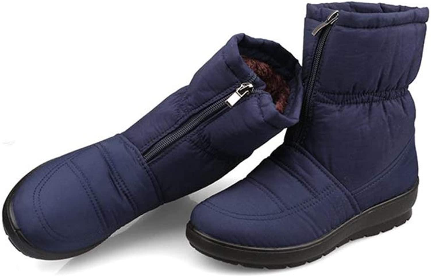 FORTUN Winter Cotton shoes Mother shoes Flat Snow Boots Women's Boots Casual