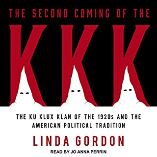 The Second Coming of the KKK audiobook cover art