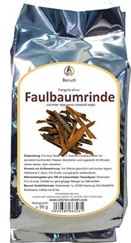 Faulbaumrinde - (Frangula alnus, Echter Faulbaum) - 50g