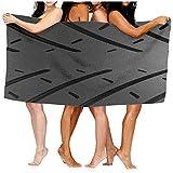 Drollpoe Strandtücher für Frauen Männer Decke Motorrad Reifenspuren Muster Badetücher Luxuriöse...