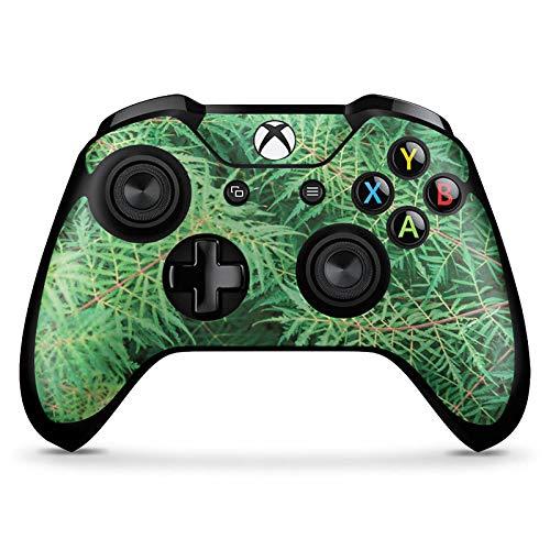 DeinDesign Skin kompatibel mit Microsoft Xbox One X Controller Aufkleber Folie Sticker Farn Wald Forest