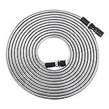 JML Flex Steel Hose - The most durable, lightweight, flexible hose - 25 FT