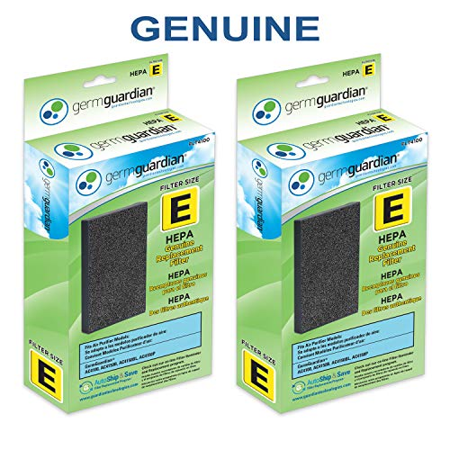 Lowest Prices! Germ Guardian GermGuardian Air Purifier Filter FLT4100 Genuine HEPA Replacement Filte...