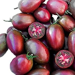 30+ ORGANICALLY Grown Ukrainian Purple Tomato Seeds, Heirloom Non-GMO, Indeterminate, Open-Pollinated, Sweet, Rare, from USA