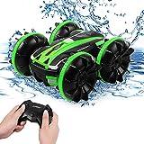 Eutionho Ferngesteuertes Auto Wasserdichtes All-Terrain Offroad Auto, RC Car 360° Drehbar Geländewagen 2,4-GHz-Technologie Hochgeschwindigkeits-Wasserfernbedienungsauto Geschenkspielzeug für Kinder