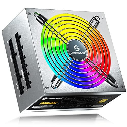 UtechSmart 850W 80 Plus Gold Certified PSU
