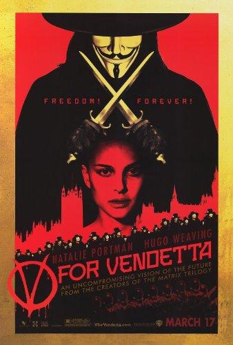V for Vendetta 27x40 Movie Poster (2006)