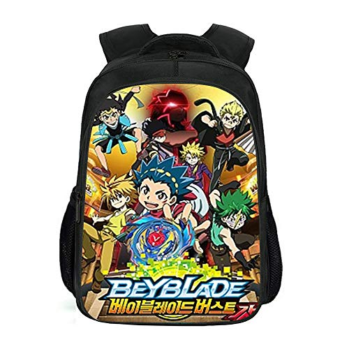 XWXBB Beyblade backpack, children's backpack, anime backpack, backpack with...