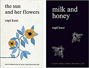 By [Rupi Kaur] Milk and Honey & The Sun and Her Flowers 2 book set