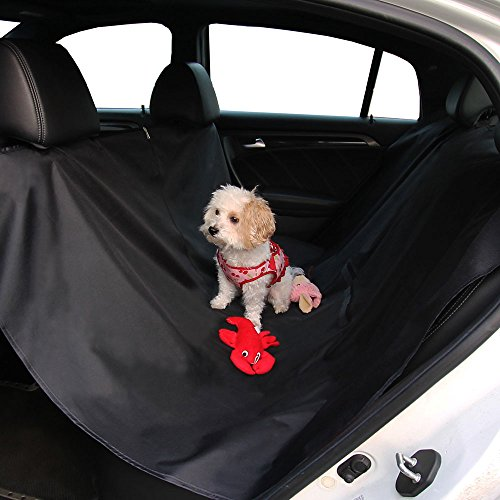 FH Group Pet Seat Cover Waterproof FH1009BLACK Seat Cover Protector (Waterproof for Dogs and Pets)
