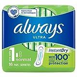 Always Ultra Normal (Tamaño 1) Toallas Sanitarias 60 g