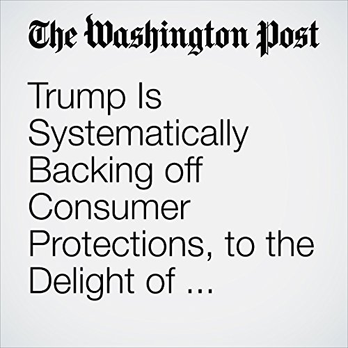 Trump Is Systematically Backing off Consumer Protections, to the Delight of Corporations copertina