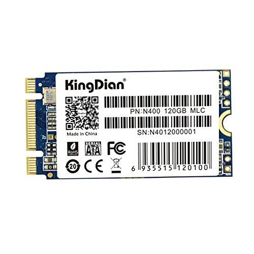 KingDian - Disco duro de estado sólido M.2 2242  NGFF de 240 GB para ordenadores de escritorio y ordenadores MacPro, de 22 mm x 42 mm N400 120GB