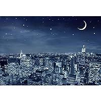 木製の写真アートパズル、星空風景アート油絵パズル、解凍教育玩具の誕生日・クリスマスクリエイティブギフト (Color : D, Size : 1000pc)